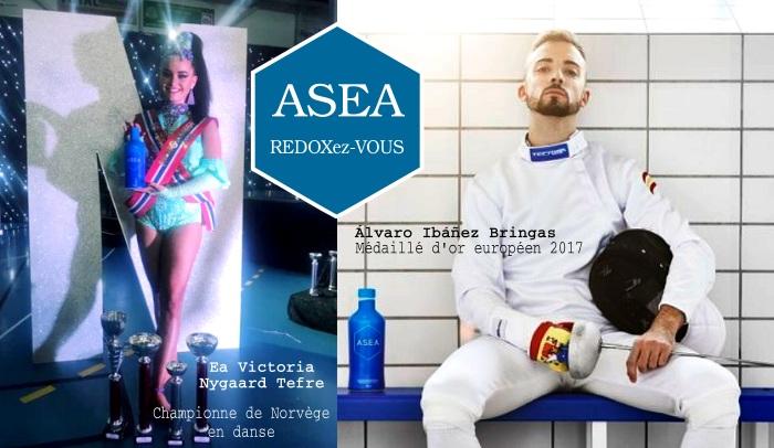 Asea présente ses athlètes européens